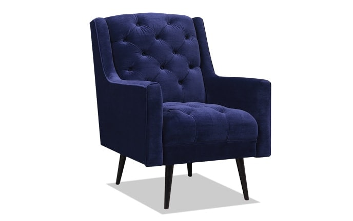Bryan Blue Accent Chair