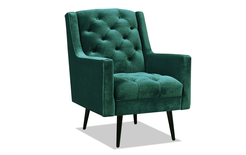 Bryan Emerald Accent Chair