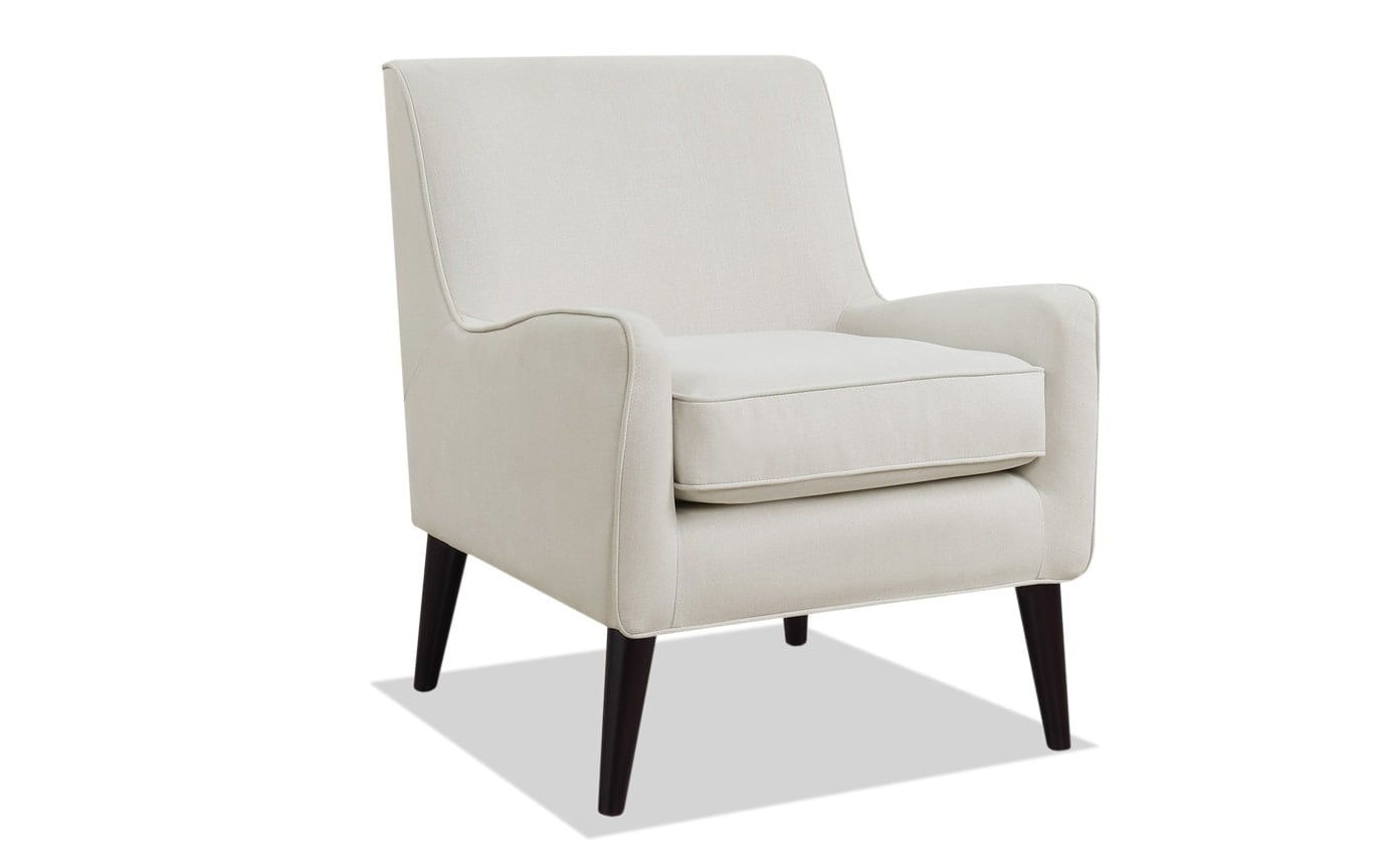 Angie Midtown Taupe Accent Chair
