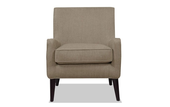 Angie Midtown Maple Accent Chair