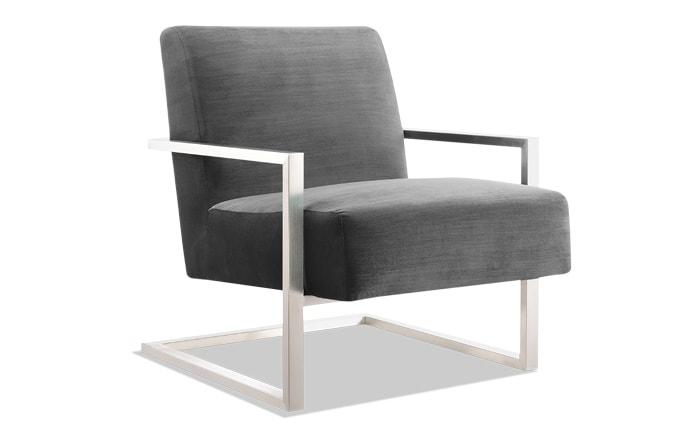 Erie Gun Metal Chair