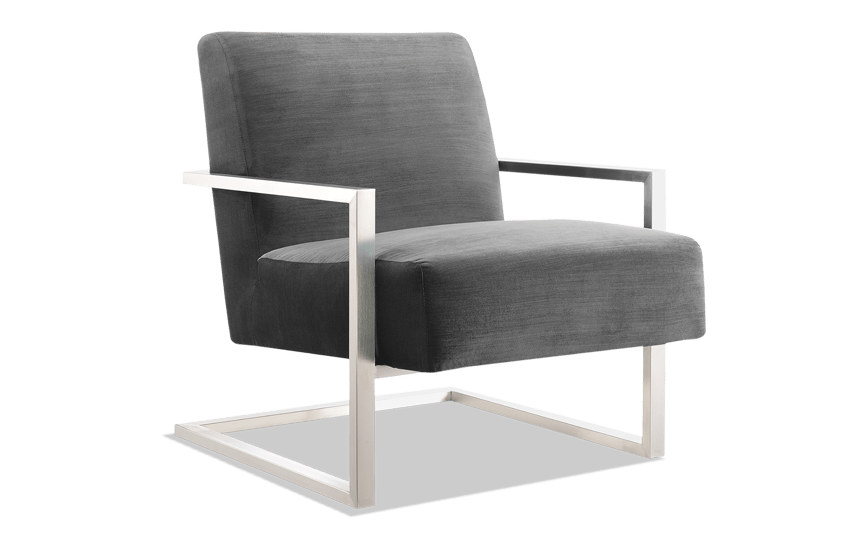 Erie Gun Metal Chair