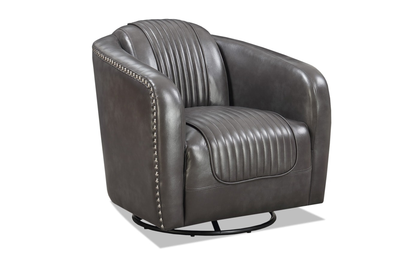 Luxor Gray Accent Chair