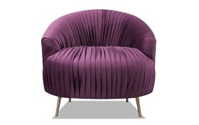 Princeton Purple Accent Chair