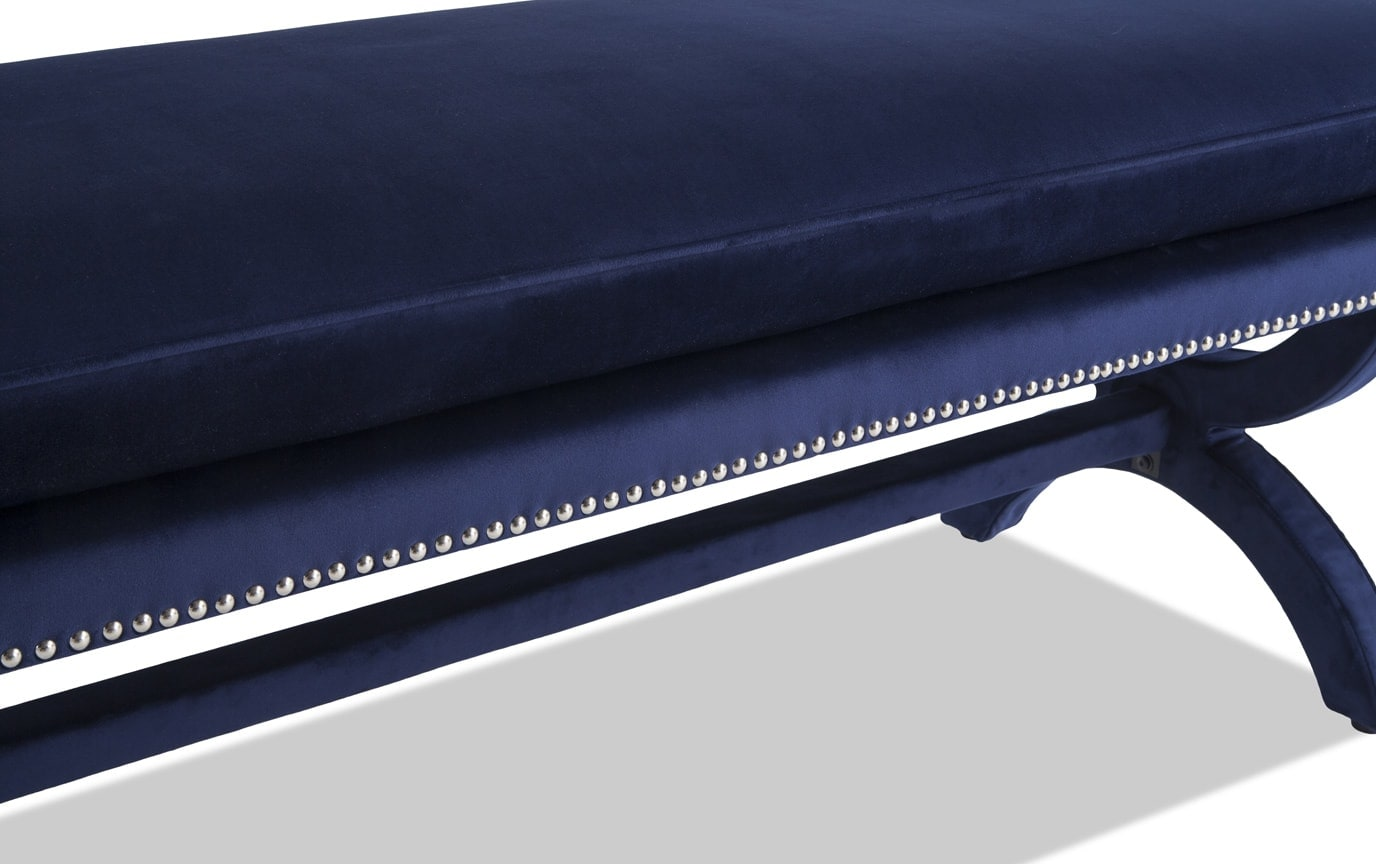 Bethany Navy Bench