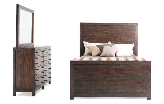 Java Storage Bedroom Set