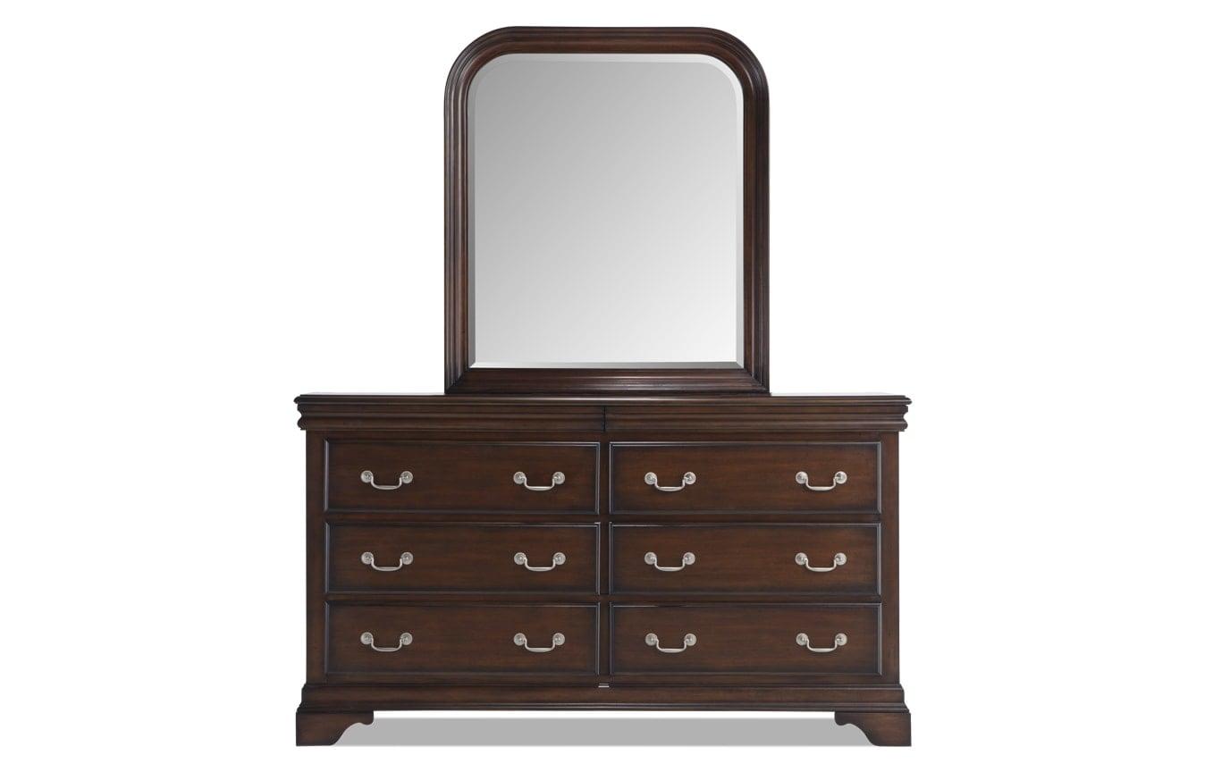 Louie Louie Cherry Dresser & Mirror