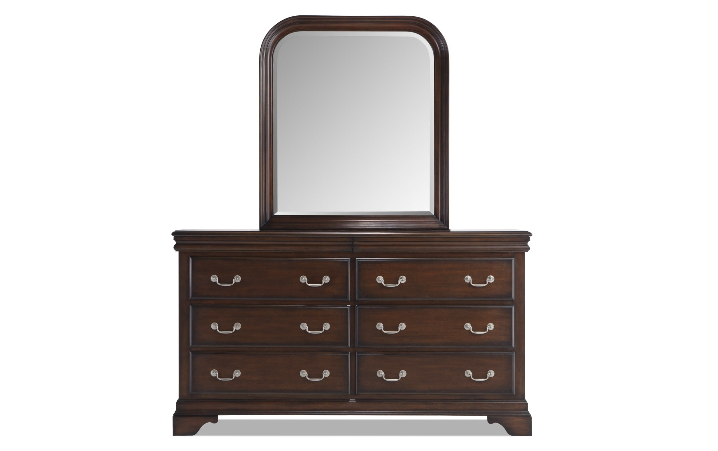 Louie Cherry Dresser Mirror
