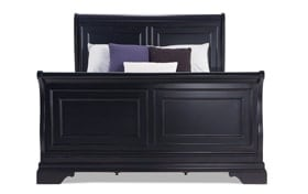 Louie Louie King Black Bed
