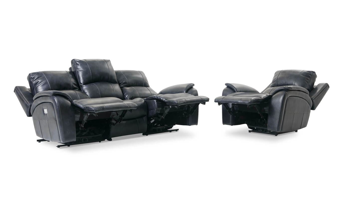 Gotham Power Reclining Sofa & Power Recliner