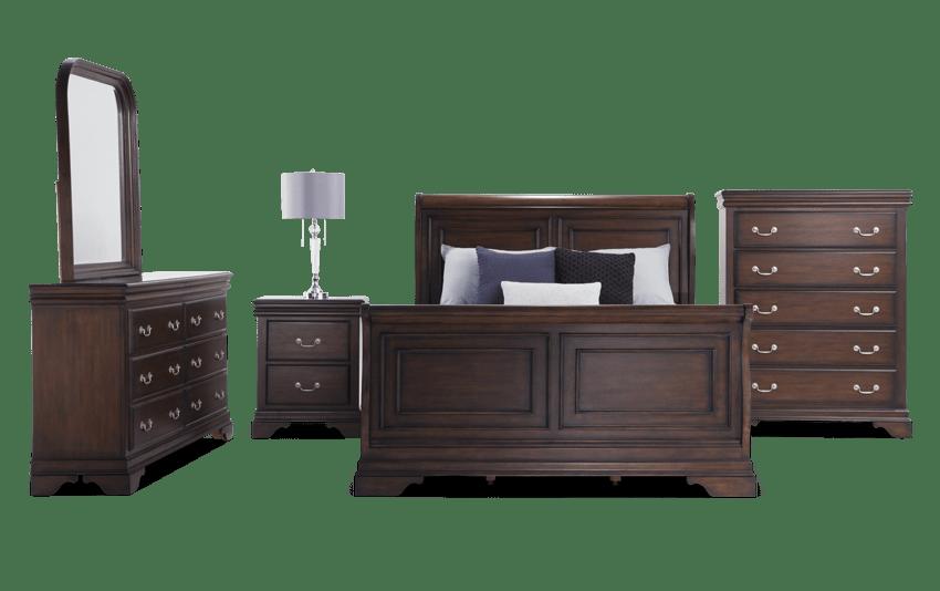 Louie Louie Twin Cherry Bedroom Set