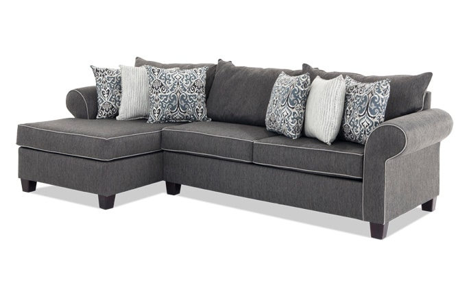 Ashton 2 Piece Right Arm Facing Sectional