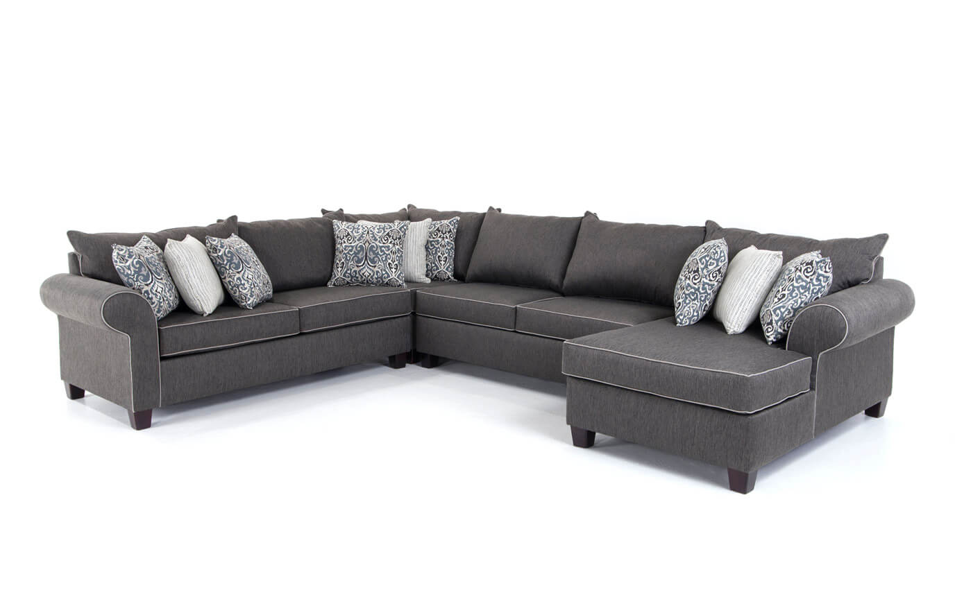 Ashton 4 Piece Left Arm Facing Sectional | Bob\'s Discount Furniture