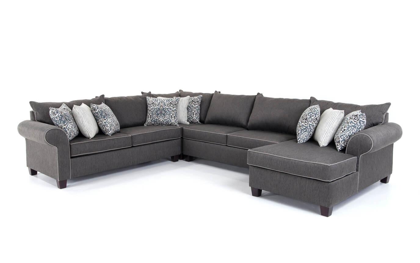Ashton 4 Piece Left Arm Facing Sectional | Bob\'s Discount Furniture
