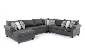 Ashton 4 Piece Right Arm Facing Sectional