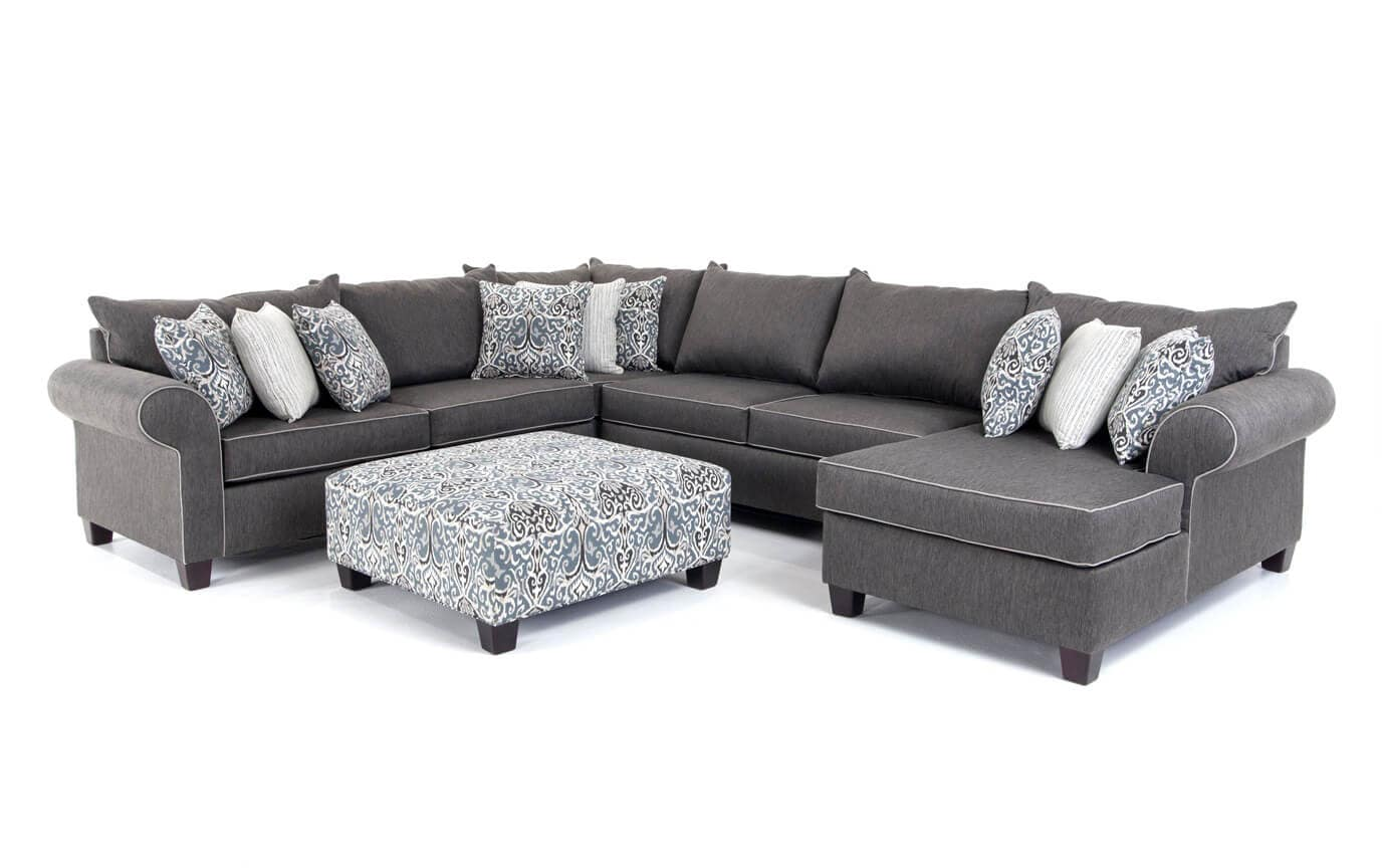 Ashton 5 Piece Left Arm Facing Sectional