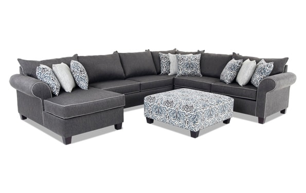 Ashton 5 Piece Right Arm Facing Sectional