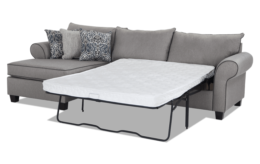 Ashton 2 Piece Right Arm Facing Innerspring Sleeper Sectional