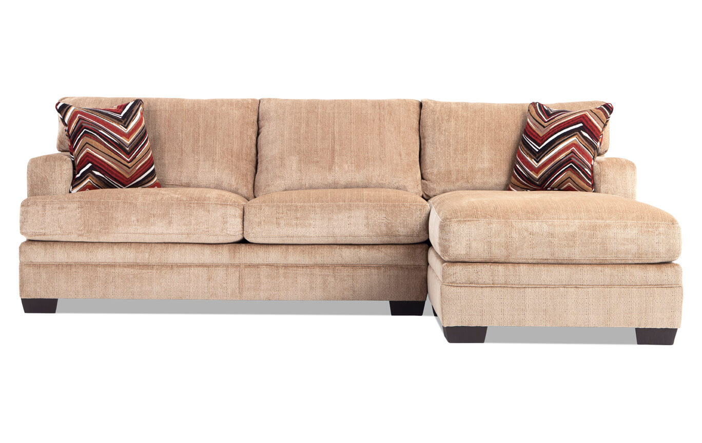 Molly Wheat Left Arm Facing Sectional