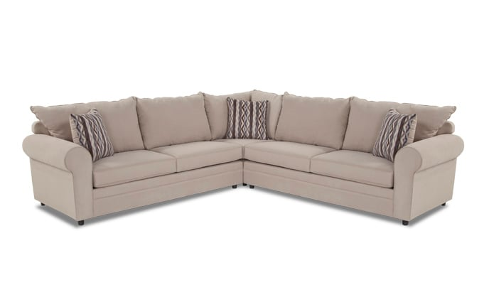 Venus 3 Piece Innerspring Sleeper Sectional
