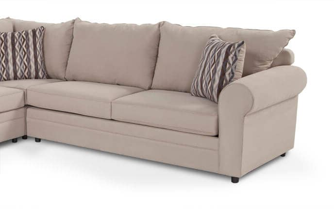 Venus 3 Piece Bob-O-Pedic Gel Sleeper Sectional