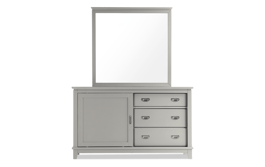 Chadwick Gray Dresser & Mirror