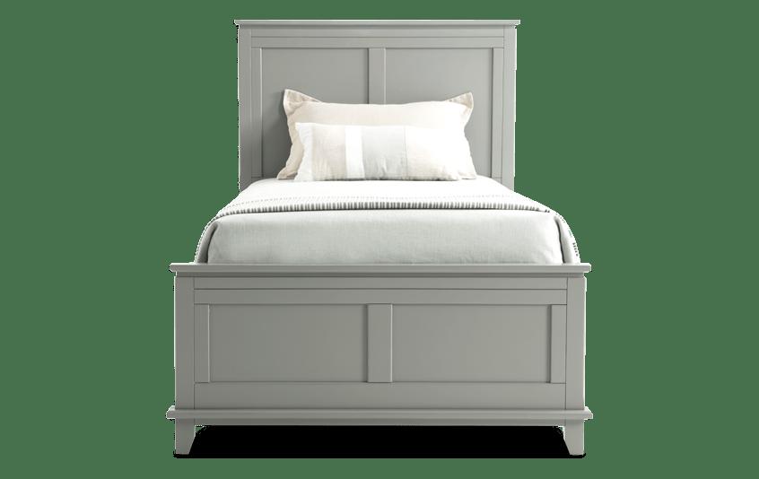 Chadwick Twin Gray Panel Bed