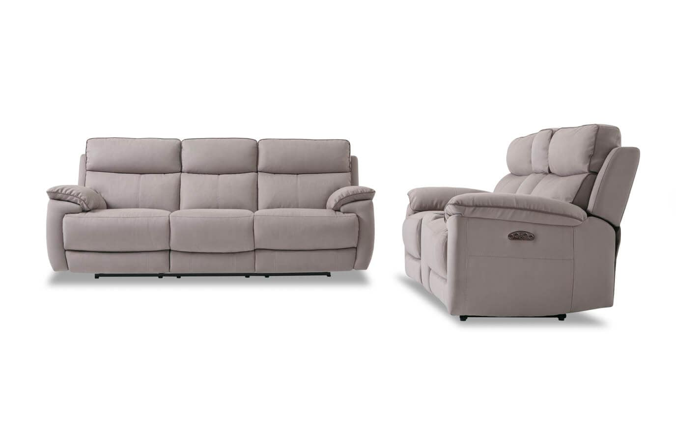 Jetson Power Reclining Sofa & Console Loveseat