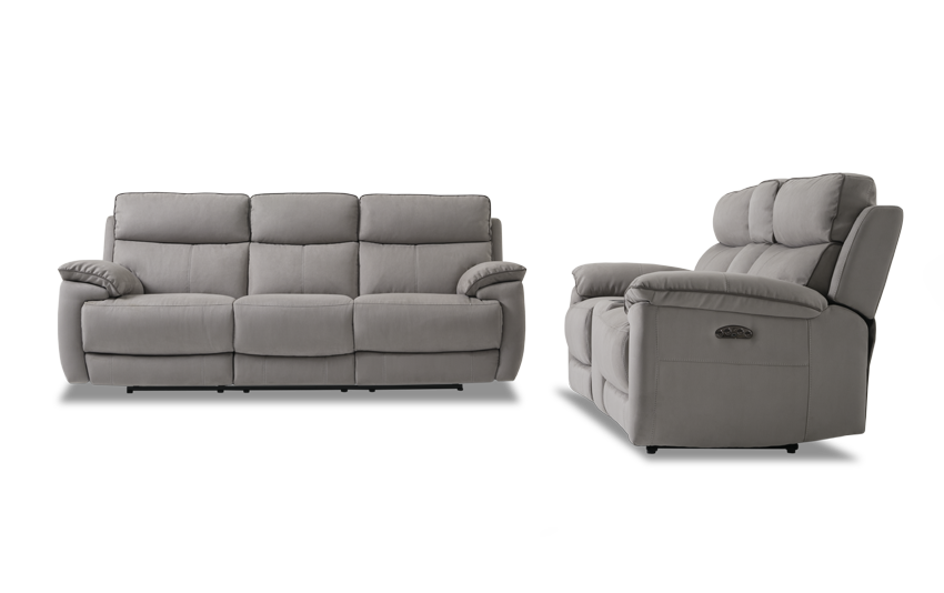 Jetson Power Reclining Sofa U0026 Console Loveseat