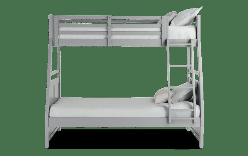 Chadwick Twin/Full Gray Bunk Bed