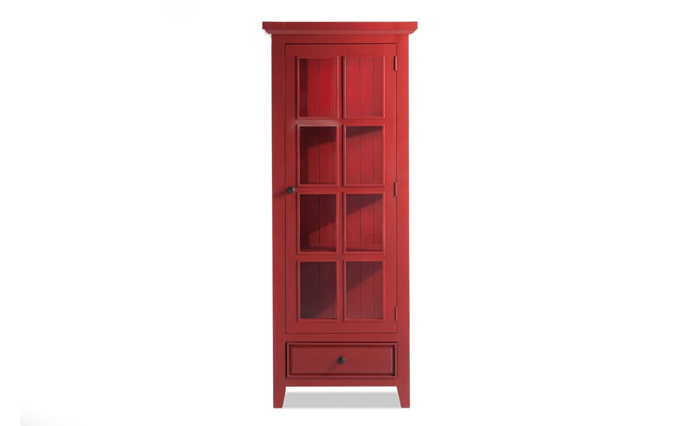 Gallery slider image 1 - Antique Red Jelly Cabinet Bob's Discount Furniture