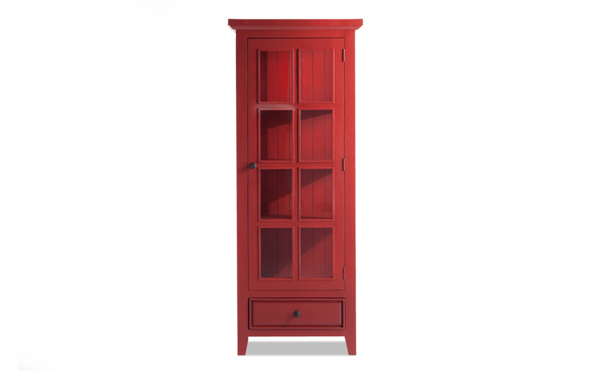 Antique Red Jelly Cabinet