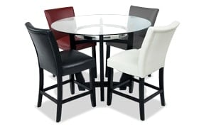 Matinee Multicolored 5 Piece Counter Set