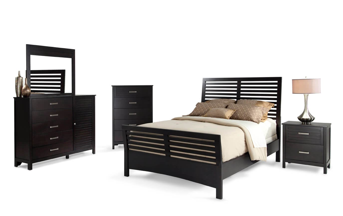 Dalton California King Espresso Bedroom Set