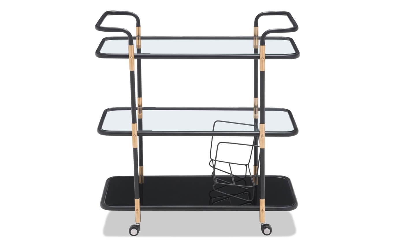 Secret Black & Gold Bar Cart