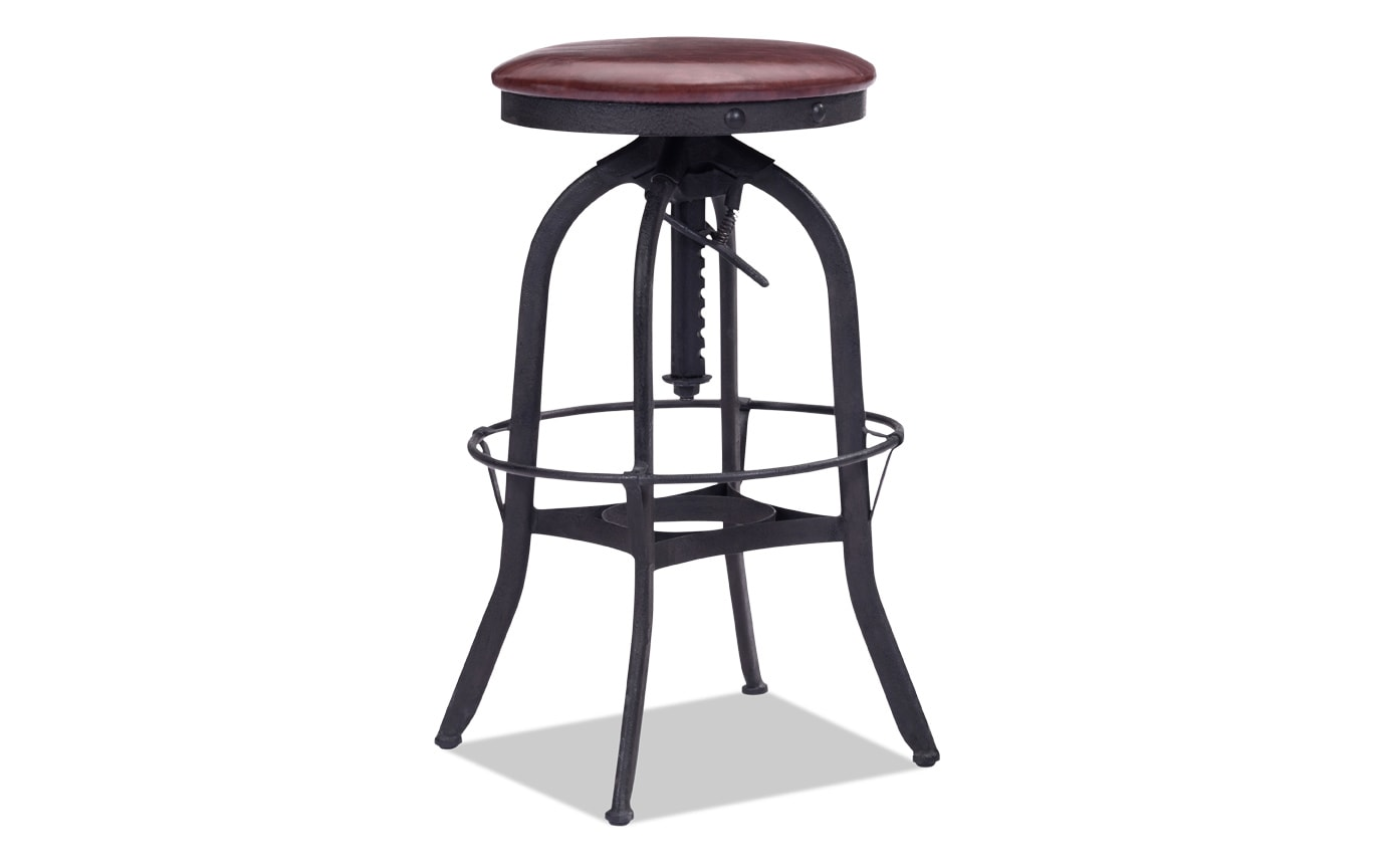 Crete Adjustable Bar Stool