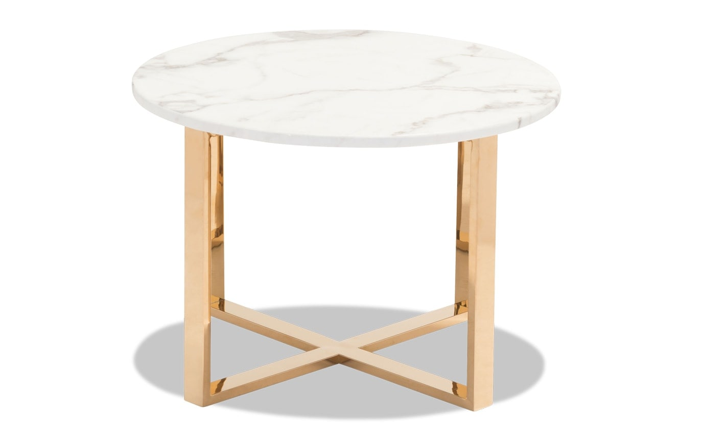 Globe End Table