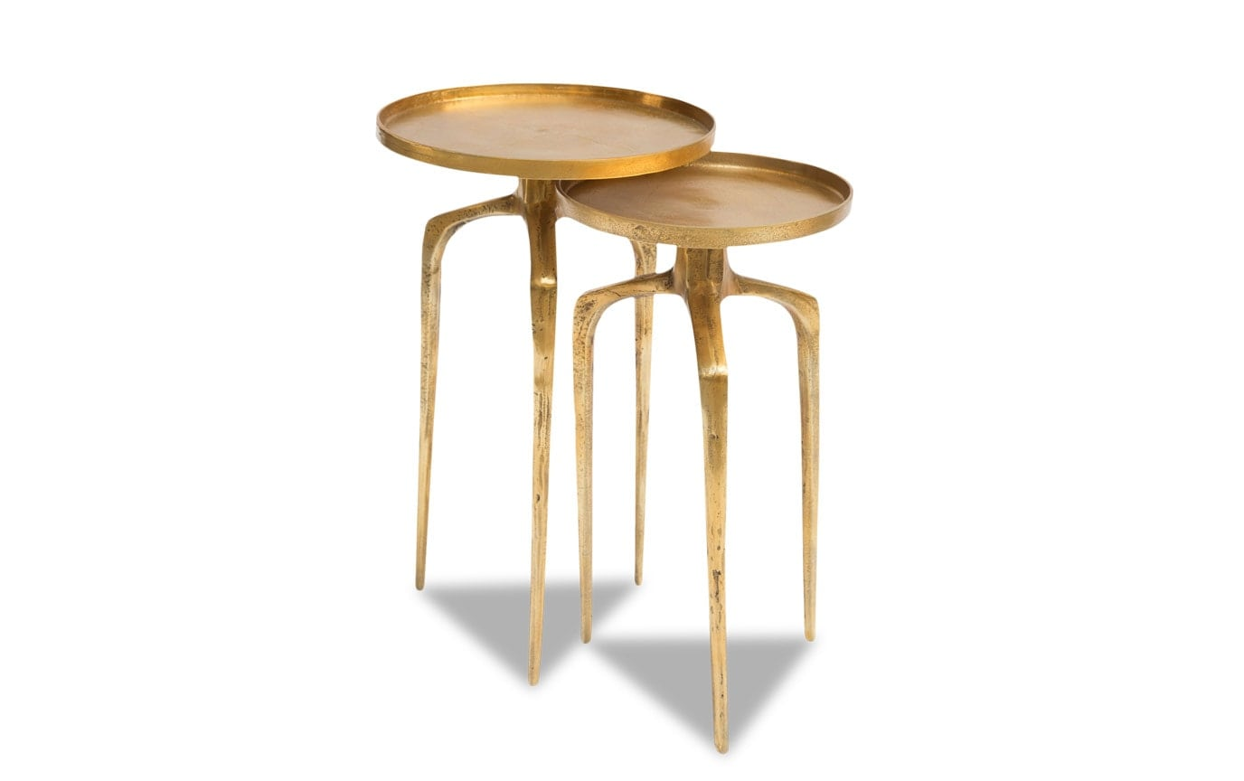 Set of 2 Como Accent Tables