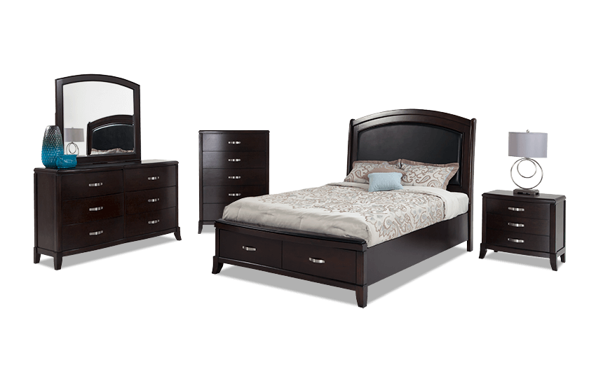 Jason California King Storage Bedroom Set