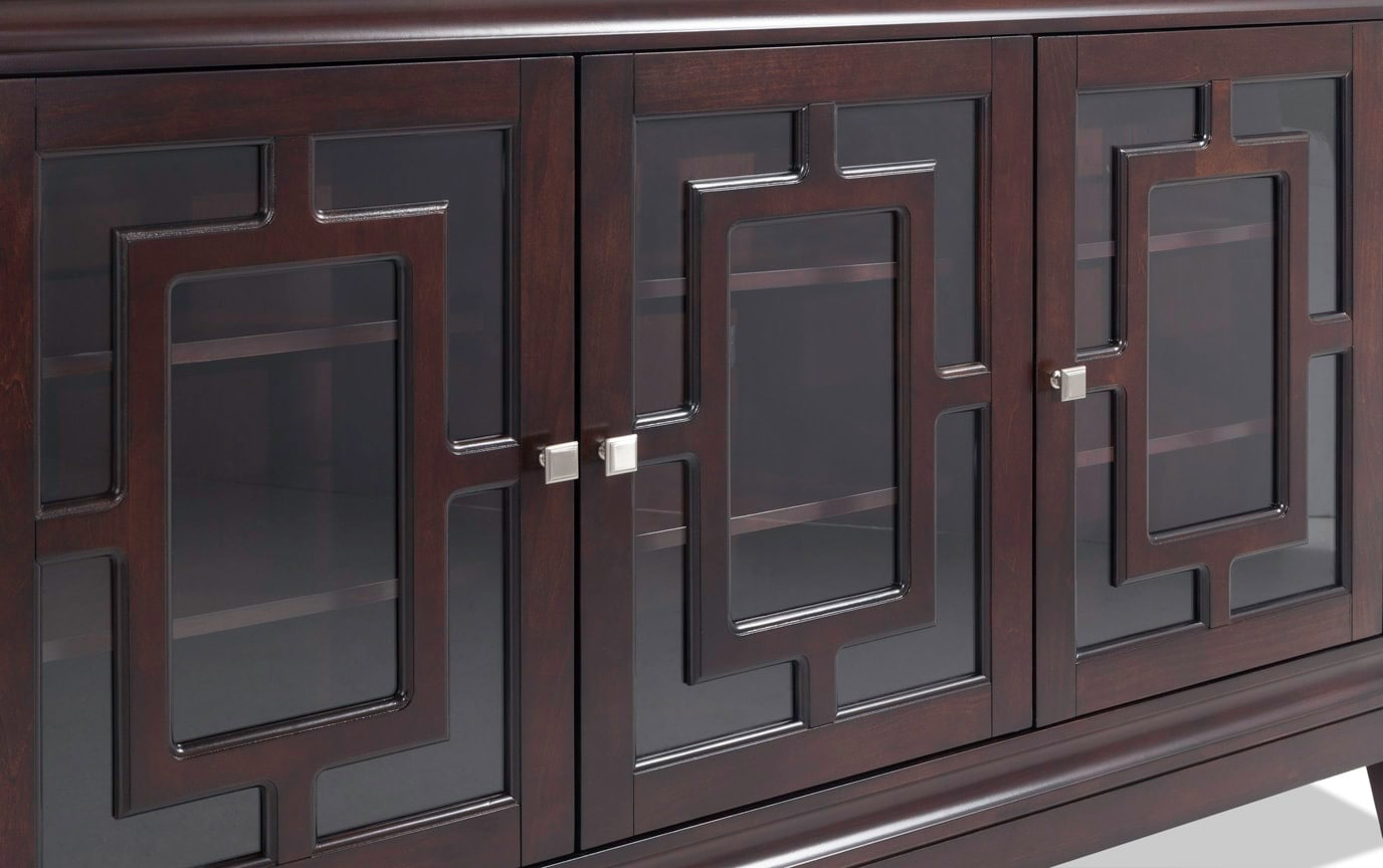Gridlock Brown Cabinet