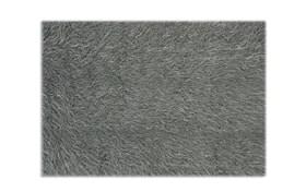 "Gray Fur 5' x 7'6"" Rug"
