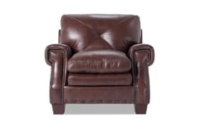 Kennedy Brown Leather Chair
