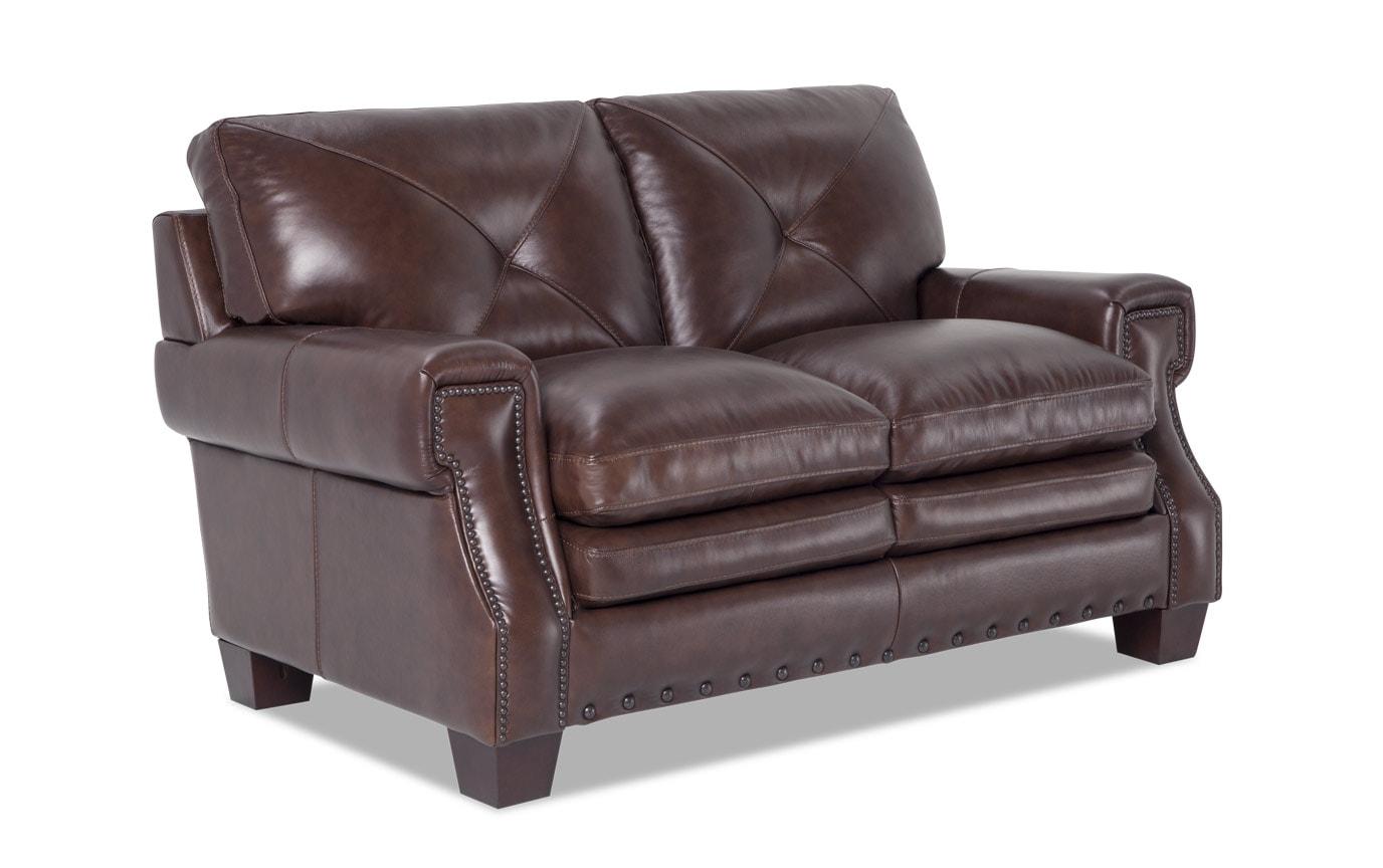 Kennedy Leather Loveseat