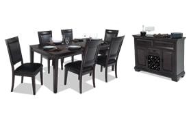 Matrix 8 Piece Dining Set with Server