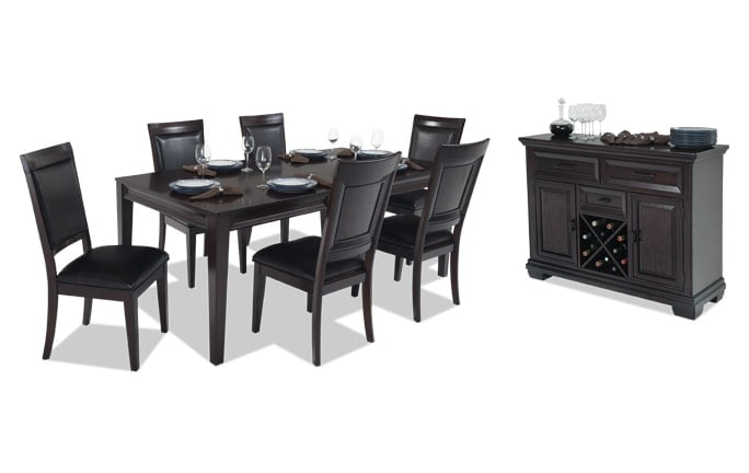 Matrix 8 Piece Dining Set with Server