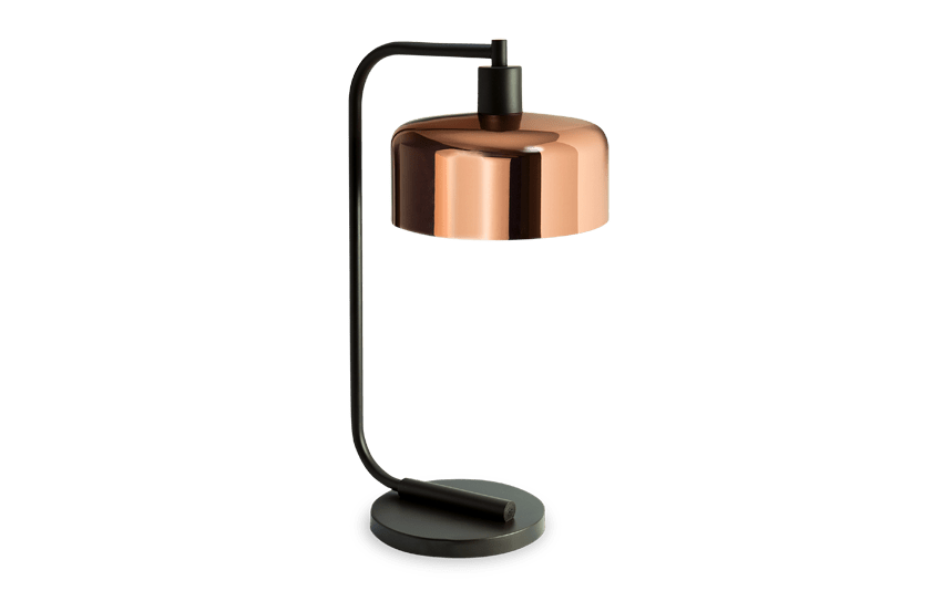 Chad Copper Table Lamp