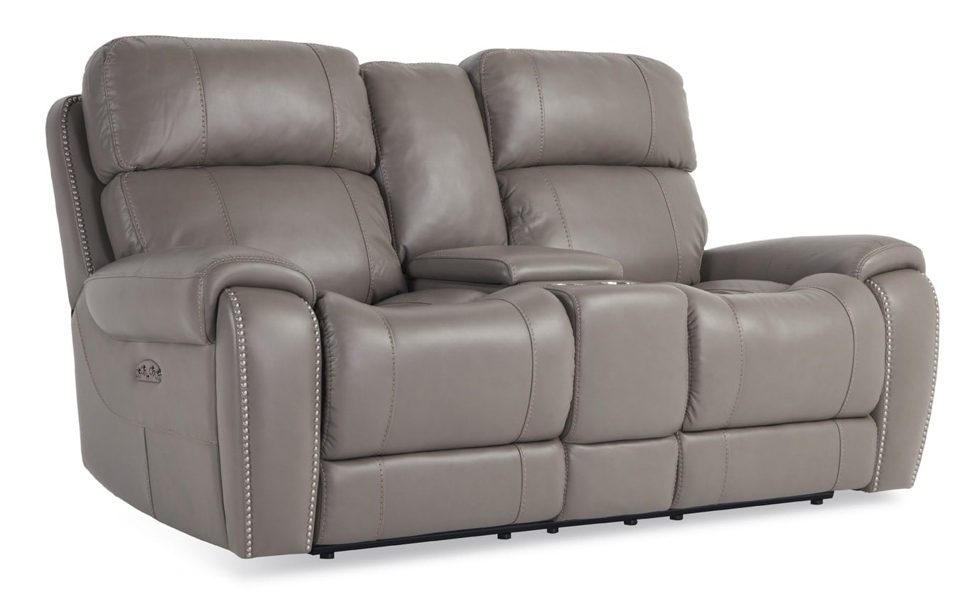 Orion Power Reclining Sofa & Power Reclining Console Loveseat