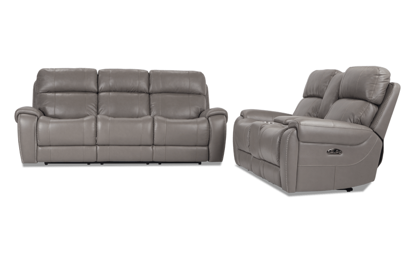 Perfect Orion Power Reclining Sofa U0026 Power Reclining Console Loveseat