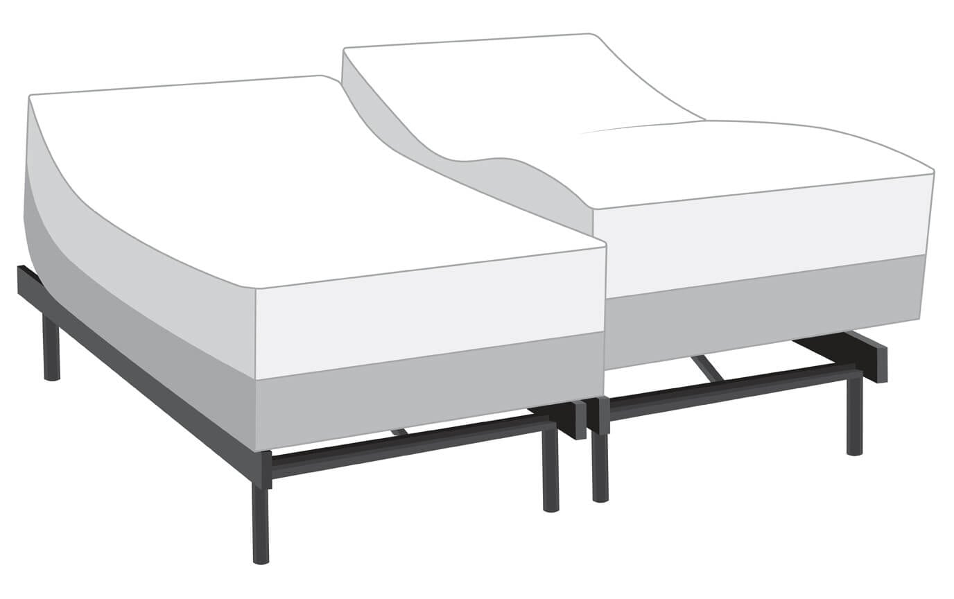 Power Bob with Obsession Dual King Mattress