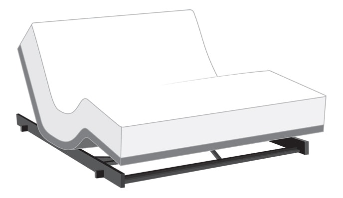 Power Bob Low Rider Adjustable Bed with Obsession